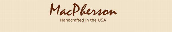 MacPherson Custom Leather Logo