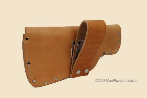 fire axe scabbard with belt loop